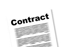 Contract ban